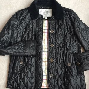Quilted Coach jacket